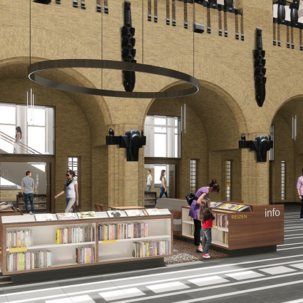 Bibliotheek Utrecht op de Neude